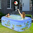 Large Family Swimming Pool Garden Outdoor Summer Inflatable Kids Paddling Pools