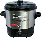 30 LB Wax Melter for Candle Making Soap Making Electric Stainless Steel Melter
