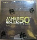 JAMES BOND 50TH ANNIVERSARY TRADING CARDS SERIES 2 FACTORY SEALED HOBBY BOX 4290
