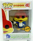Woody Woodpecker Pop #493 Chase Limited Edition Funko Pop Animation in Protector