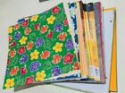 MIXED LOT of Sheets 12x12 Printed Cardstock  Scrapbook Papers Seasons 7 lbs