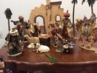 Members Mark Nativity Set vintage large Christmas Brand New 16 pieces
