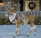 New Blow Mold LED Lighted Reindeer 45 ft Christmas Outdoor Decorations Holiday