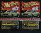 Hot Wheels RLC Exclusive 69 Chevrolet Camaro SS Low s Lot Of 2