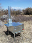 Wrangler Wood Camp Tent Stove - Riley Stoves - Kit 4A