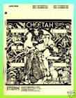 Cheetah 1980  Stern Pinball Manual & Schematics