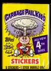 1986 GARBAGE PAIL KIDS 4th Series Complete Set