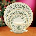 LENOX HOLIDAY 12  5 PC PLACESETTING