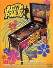 2001 STERN AUSTIN POWERS PINBALL FLYER MINT