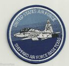SHEPPARD AIR FORCE BASE TEXAS USAF BLUE EMBROIDERED 4