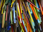 15 lbs Devardi Glass Rods Mixed SHORTS with FREE Rod holder Lampwork COE 104