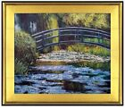 Framed Quality Hand Painted Oil Painting Claude Monet Water Lilies 20x24in