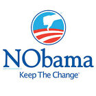 NObama Keep Change anti Obama T shirt Republican S 4X