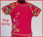 New GIRLS RASHI SWIMWEAR / TOGS Rash Top - Sz 4 5 or 6