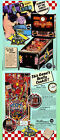 DINER  Williams Pinball Advertising Flyer MINT!