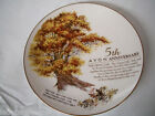AVON 5TH ANNIVERSARY THE GREAT OAK COLLECTOR PLATE