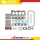 Head Gasket Bolts Set Fit 92 01 Geo Suzuki Chevrolet 16 SOHC 16V G16S G16KV