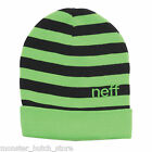BRAND NEW WITH TAGS Neff BUMBLE Beanie GREEN LIMITED RELEASE RARE