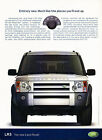 2005 Land Rover LR3 entirely new Vintage Advertisement Ad A30 B