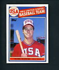 1985 Topps # 401 ROOKIE Mark McGwire NR MT+ cond Team USA A's Cardinals