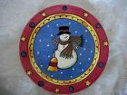 Set of 3 SANGO Sweet Shoppe Christmas #3041 Snowman Salad/Dessert Plates