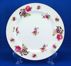 Sango SAN28 Dinner Plate 10 in. Pink Roses Purple Flowers Gold Occupied Japan