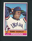 Dennis Eckersley Cards, Rookie Card and Autographed Memorabilia Guide 19