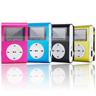 New 4GB Clip MP3 Player With Small LCD display Screen Built-in USB2.0