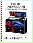 Rock-Ola 464 Jukebox Service  Manual