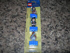 SEALED LEGO Pirates of the Caribbean MAGNETS 3 PACK Jack Sparrow Barbossa 853191