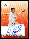2003 TOPPS ALBERT PUJOLS AUTO EARLY ON CARD TA-AP AUTOGRAPH