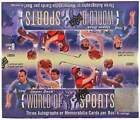 2011 (2012) Upper Deck World of Sports Factory Sealed Hobby Box