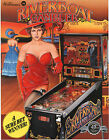 1989 WILLIAMS RIVERBOAT GAMBLER PINBALL FLYER MINT