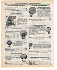 1940 AD BICYCLE SIREN, CHIMES, SPEEDOMETERS, HORNS, TAIL LIGHTS, HEADLIGHTS