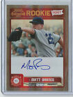 Matt Barnes 2011 Playoff Contenders RC ON CARD Auto Red Sox FREE SHIP