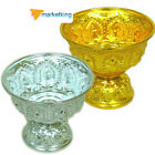 AMULETS FOOD, FLOWER TRAY RICE & WATER CONTAINER SERVING BOWL SACRED ALUMINUM