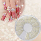 New Wheel Case Nail Art Decoration Pearl White 10#