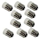 Lot 10x pcs E27 to E14 Base LED Light Lamp Bulb Adapter Converter Screw Socket
