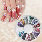 New Fashion Multi-color Wheel CaseNail Art Decoration 17#