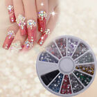 1800X2mm Nail Art Rhinestone Stars Shapes Glitters Tips Manicure Deco Wheel