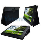 Hot Folio Leather Case Cover for Acer Iconia Tab A500 A501 Touch Tablet Black