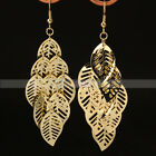 "New Charming Fashion Noble Gorgeous Girl""s Leaf Style Tassel Dangle Earrings"