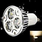 GU10 85 - 265V 4W 3000~3500K Warm White 360LM LED Spot Light Bulb Lamp