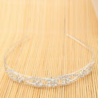 Pretty Flower Style Rhinestone Hair Band Tiara Headband