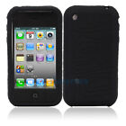 New Silicone Sillicon Case for iPhone 3G 3GS Black