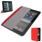 New Smart Cover Magnetic Leather stand case for iPad 2 iPad2 Red