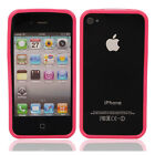 New TPU Bumper Frame Case Cover for iPhone 4 4S Pink