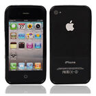 New TPU Bumper Frame Case Cover for iPhone 4 4S Black