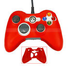New Controller Silicone Skin Case Cover for Xbox360 Red