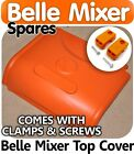Top cover and hinges with screw Belle 150 Cement Concrete Mixer Parts sparesNEW
